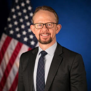 Michael E. MANGELSON (Intellectual Property Attache at U.S. Department of Commerce and U.S. Patent and Trademark Office)