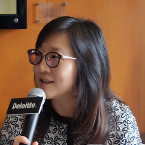 Charlotte Lu (Lead Partner, , Education Industry at Deloitte China)